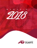 Memoria Institucional ADAP, 2018.